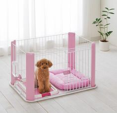 Cute Pink Puppy Pen how did I miss this one.  So cute!!