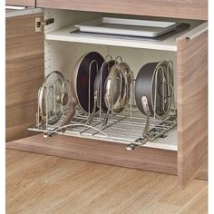 $85 · Do you need that one item in the back of your wall cabinet, and the only way to access it is to pull everything out? Stop the madness with this pullout shelving system, whose open design ensures you can effortlessly find everything. #diykitchendrawer #drawers