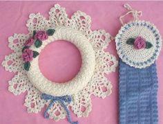 Maggie's Crochet · Pineapple Wreath and Towel Topper Crochet Pattern