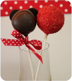 Mickey Mouse Cake Pop Maker Instructions