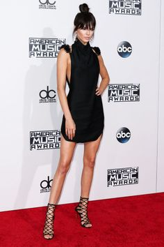 These celebrities stunned on the red carpets in little black dresses this year. See our favorite LBD's of 2015: Kendall Jenner
