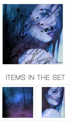 """""""Last Night"""" by deborah-strozier ❤ liked on Polyvore featuring art and modern"""