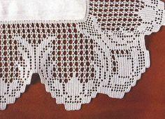 Professione Donna: Schemi per il filet: Bordure per centri di cotone
