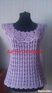 Resultado de imagen de crochet japones en español blusas con patrones