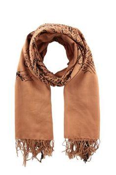 DRIES VAN NOTEN Sciarpe e Foulards sciarpa con frange felaz