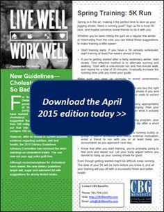 live well work well employee wellness newsletter for september