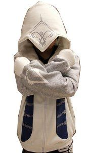 Xcoser Assassin's Creed 3 Connor Kenway Hoodie Jacket Cosplay Costume in X-Large Size
