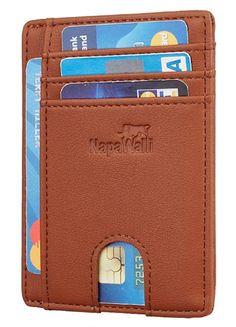 NapaWalli RFID Blocking Minimalist Genuine Leather Slim Front Pocket Wallet  . . . . . . . . . #wallet #menswallet #mensaccessories #menfashion #walletformen #giftformen #mengifts #giftforhim #leatherwallet #cardholder