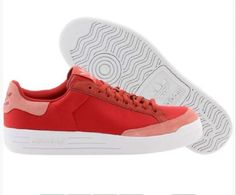 NEW ADIDAS ROD LAVER Originals MENS Brick Red Vintage Classic NIB #adidas #Athletic