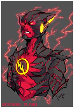 REVERSE FLASH 13X19 FLASH VILLAIN