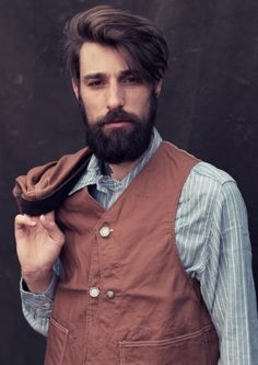 Sexiest beard man with style