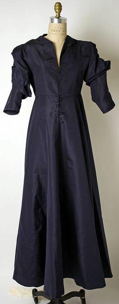 Dress, Evening  Valentina (American, born Russia, 1899–1989)  Date: 1940s Culture: American Medium: silk