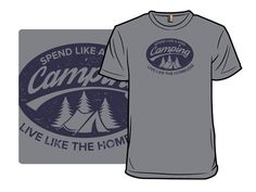 Irony of Camping