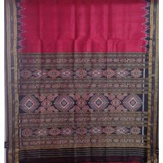 OSS509: Handloom Saree with Silk Fabric