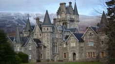 Ardverikie House, near Newtonmore, better known as Glenbogle house in Monarch of the Glen TV series. Taken by Stephen Knight