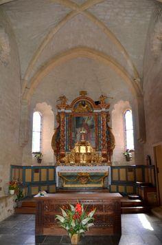 Eglise romane de l'Hôpital  Saint-Blaise. Midi-Pyrénées
