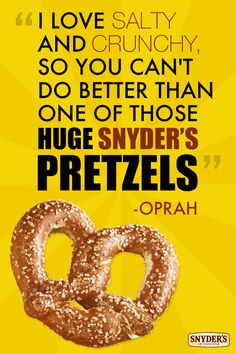 You get a pretzel, and you get a pretzel! Egg Roll Recipes, Egg Rolls, Oprah, Canning, My Love, Simple, My Boo, Home Canning