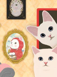 http://www.jetoy.com/ || Altilugios gatelos de Colea del Sul. La estlella es el gato Choo-choo.