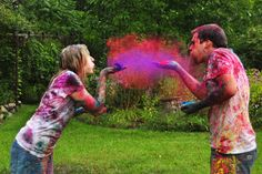 Holi Color Powder Pictures
