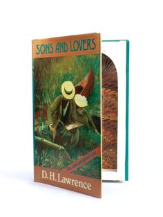 Sons & Lovers by DH Lawrence - Small Book Safe Dh Lawrence, Book Safe, Small Book, Favorite Person, Sons, Lovers, Art, Art Background, Kunst