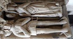 Effigy of Sir Richard Croft & Dame Eleanor They were my g-grandparents. At Croft Castle, Herefordshire. Croft Castle, 16th Century Clothing, Herefordshire, Medieval Armor, Effigy, 15th Century, Ancestry, Tudor, Grandparents