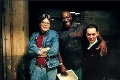 On the set of The Green Mile