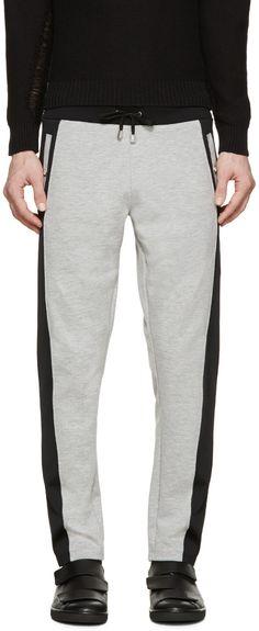 Versus Grey & Black Sweatpants