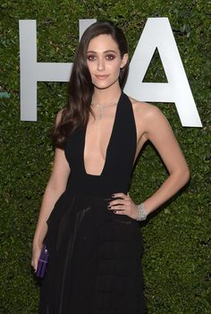 """Emmy Rossum - Michael Kors Launch Of Claiborne Swanson Frank's """"Young Hollywood"""""""