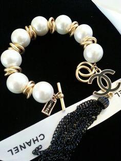 Vintage Pearl Bracelet Etsy ArmCandyDesignsbyZ
