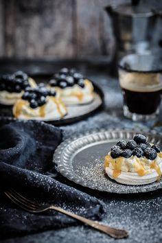 Blueberry, Salted Caramel and Vanilla Bean Cream Mini Pavlovas | Anisa Sabet | The Macadames-7-5