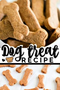 These easy, healthy Homemade Dog Treats are a special recipe to serve your favorite pet! Homemade dog treats are a simple way to let your little puppy know they're loved.They are so simple to make Dog Cookie Recipes, Homemade Dog Cookies, Dog Biscuit Recipes, Homemade Dog Food, Dog Treat Recipes, Healthy Dog Treats, Dog Food Recipes, Pet Treats, Homemade Dog Biscuits