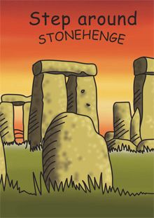 Step around Stonehenge activity guide from English Heritage.