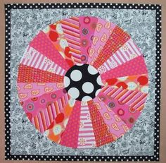 Lovely Dresden by Cathy from Cabbage Quilts (Australia)
