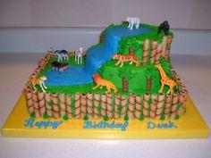 zoo birthday cakes | Original Embed