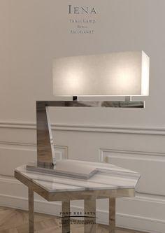 Iéna Table Lamp- Designer MONZER Hammoud- Pont des Arts Studio- Paris