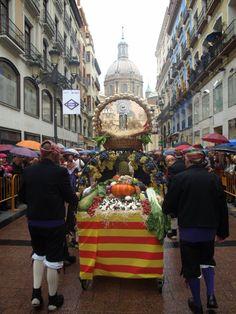 Ofrenda de Frutos. Fiestas del Pilar 2015