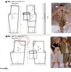 .vma.: Baby Dress Patterns, Sewing Patterns For Kids, Sewing For Kids, Baby Sewing, Clothing Patterns, Diy Pantalon, Short Niña, Baby Couture, Baby Pants