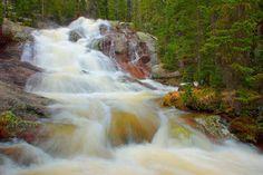 Granite Falls in Rocky Mountain National Park
