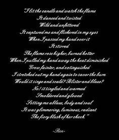 tiger's curse quotes | Ren's Poem :)