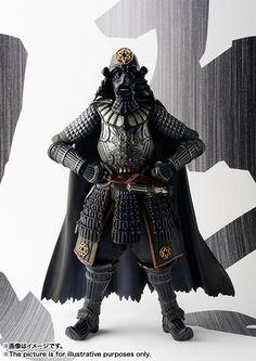 ToyzMag.com » Samurai-daisho Darth Vader du Star Wars par Tamashii Nations