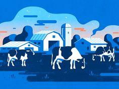 Vaques pastant
