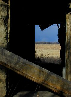 "From inside an old ""soddy"" the view of the featureless prairie must have tried the souls of European immigrants."