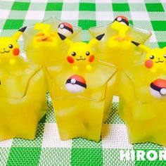 Pikachu pineapple jelly
