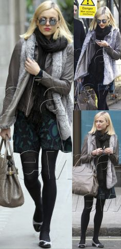 Fearne Cotton in Muubaa Meggie Biker.