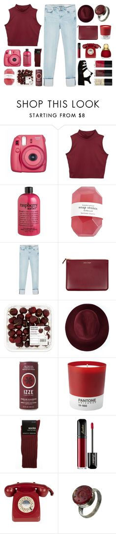 """#356"" by lost-in-a-daydr3am ❤ liked on Polyvore featuring philosophy, Zara, Comme des Garçons, Redopin, Pantone, Dorothy Perkins, Guerlain and Retrò"