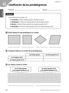 Refuerzo matemáticas 4º de primaria