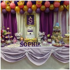 Sofia the First Birthday Party Ideas | Photo 1 of 47 | Catch My Party