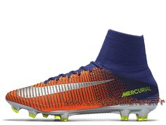 innovative design 26991 6fbb4 Nike Mercurial Superfly V FG 831940 408 Bleu royal Chaussure de football à crampons  pour terrain sec