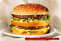 McDonald's Big Mac Secret Recipe