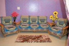 At House Attire We Designs Products With The Help Of Our In House Designers. Look At All Our Designs, You Will Find Lots Of Unique Designs That You Will Never Find Anywhere Else Like Figures, Landscape, Geometrical, Animals, Florals Etc. This Sofa Cover Is Useful In 2 Ways, One Is It Makes Your Sofa Set And Living Room Look Elegant And Secondly, It Works As Protector And Protects Sofa Set From Dust, Damage Etc.